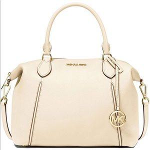 Michael Kors Lenox LG Pebbled Leather Shoulder Bag